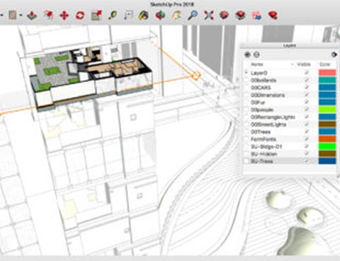 Entwurf |(SketchUp Pro)
